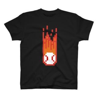 火の玉ストレート Tシャツ
