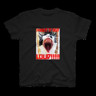 猫沢太陽のSHOUT IT OUT LOUD!!!!! T-shirts