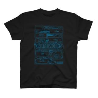 3N ART WORKS T-shirts