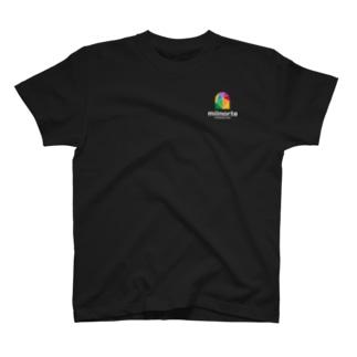 ミルノルテロゴ(濃い色用) T-shirts