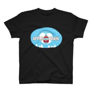 りんご電車(水色) T-Shirt