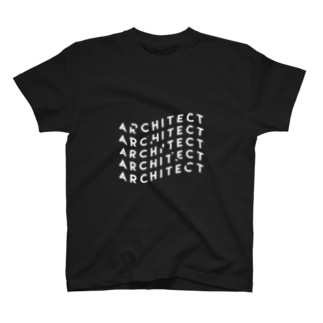 architect #1 (black) T-shirts