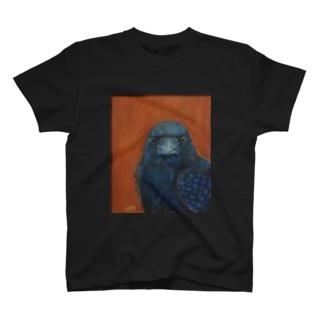ガン見カラス T-shirts