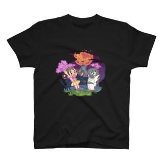 コンニャクロボットとお化け屋敷 T-shirts