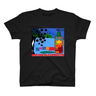 グレナデンとビンタンの茶葉 T-shirts