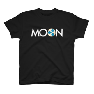 MOON XRP Whitefont T-shirts