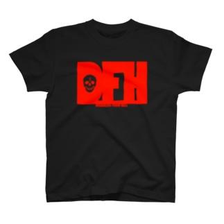 地獄の酔っ払い・吐血ver T-shirts