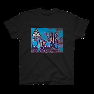 JaDeViNeのJaDeViNe ANGELFishs T-shirts