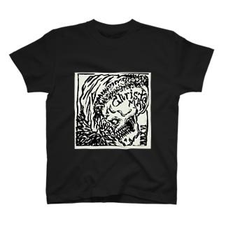 Scull-X-White T-shirts