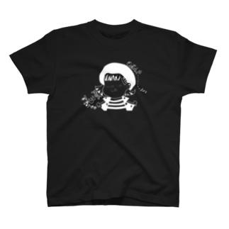 きゃちまいはー直筆イラスト T-shirts