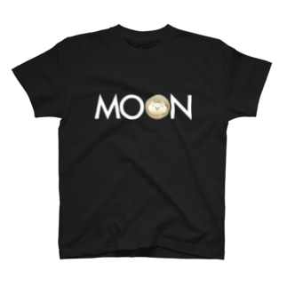MOON MONA whitefont T-shirts
