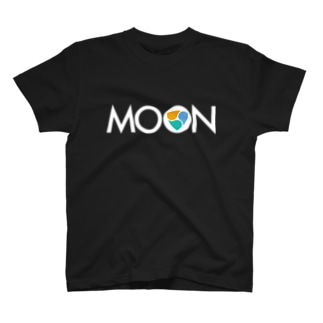 MOON XEM whitefont T-shirts