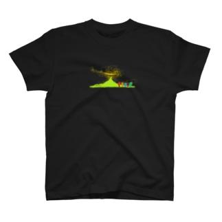 やまのぼり T-shirts