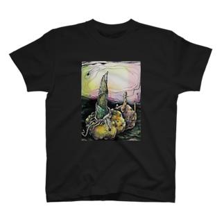 こんにやく芋 T-shirts