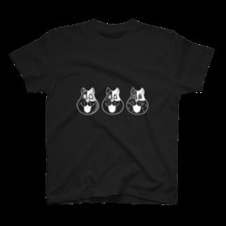 伏井しんぺいの3匹のネコやん T-shirts
