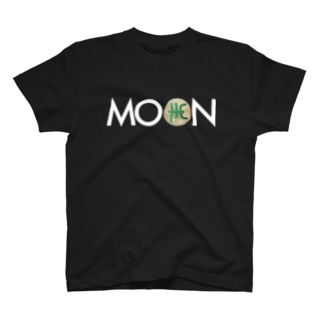 MOON THC whitefont T-shirts