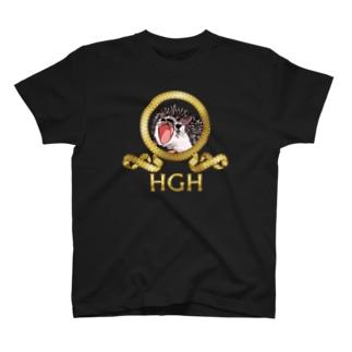 ヘッジホッグゴールデンハリネズミ T-shirts