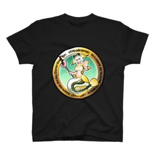 ま~ちゃん《マハゼマーメイド》 T-shirts