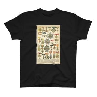 勲章 <アンティーク・イラスト> T-shirts