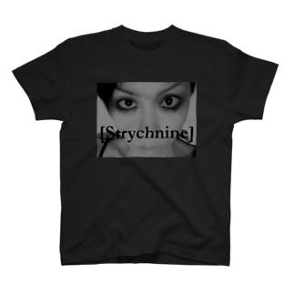 [Strychnine] zAkro フォトカード柄~弐~(モノクロ) T-shirts