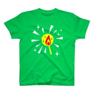 マッチの灯 Tシャツ