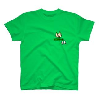 ネコカスのシャツ Tシャツ