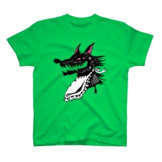 腹ぺこオオカミ Tシャツ