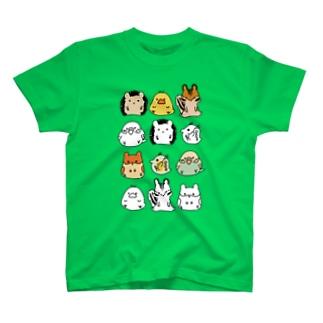 どうぶつさん Tシャツ