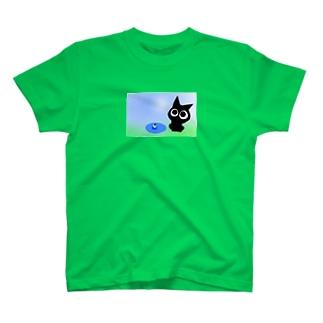 〜ネコト白イノトボク〜 Tシャツ