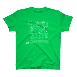 We're Bonfire Camper(W) Tシャツ
