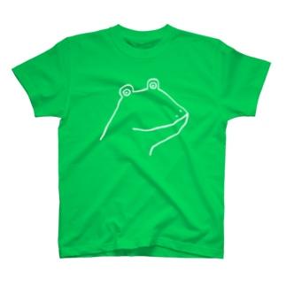 カエル2B Tシャツ