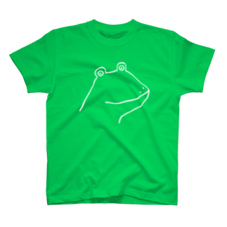 motoko torigoeのカエル2BTシャツ