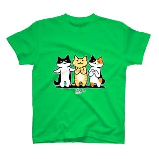 癒してあげ隊(白フチver) Tシャツ