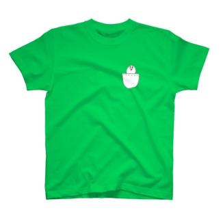 左胸の恋人 Tシャツ