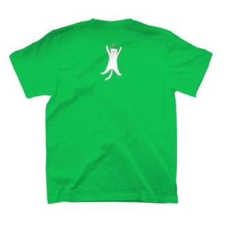 STRETCHING CAT T-shirts