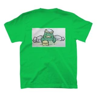おふろどっとこむキャラクター「ふろざわ♨️ゆざえもん」 T-shirts
