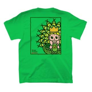 孔雀明王(バックプリント) T-shirts