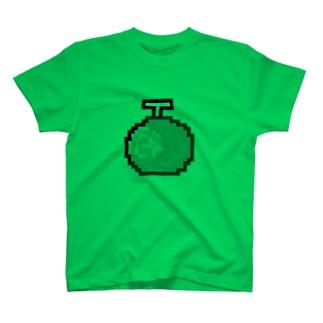 絶品メロンアイコン T-shirts