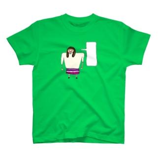 何か言いたげな女の子 T-shirts
