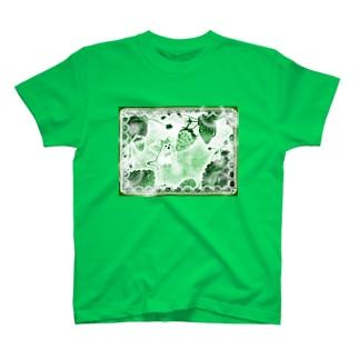 鼠干支天使(チュータン)は苺好き T-shirts