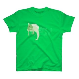ギタイ_green T-shirts