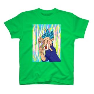 パワフルママ T-shirts