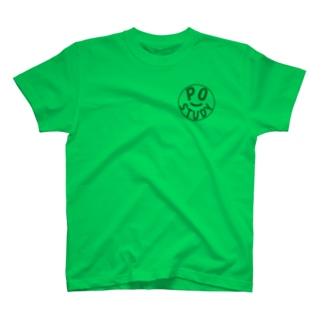 PO Study(Green) T-shirts