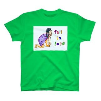 fall   in  loveえつこさん T-shirts