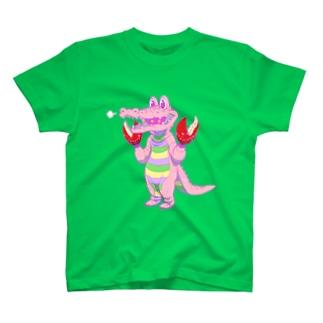 ワニ風味 Tシャツ