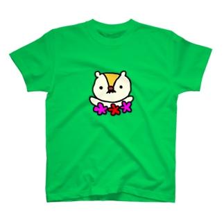 マーモット夫妻 T-shirts