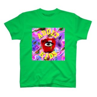 サイケデリックADULTKIDS T-shirts