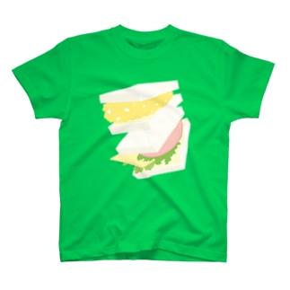 フォーリングサンドイッチ T-shirts