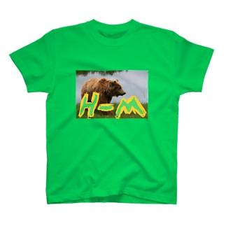 HIGUーMANIA〜羆〜 T-shirts