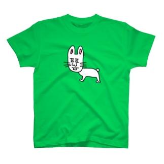 ダンディーうさぎ T-shirts